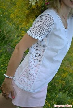 Fabulous Crochet a Little Black Crochet Dress Ideas. Georgeous Crochet a Little Black Crochet Dress Ideas. Filet Crochet, T-shirt Au Crochet, Pull Crochet, Crochet Shell Stitch, Crochet Fabric, Crochet Shirt, Crochet Jacket, Cotton Crochet, Crochet Summer