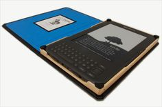DODOcase made with bamboo wood, for the Kindle. I have a similar idea for my kindle, but more curved and contoured.