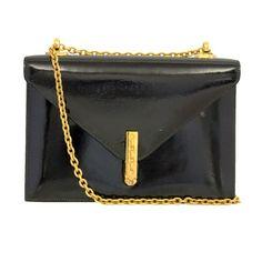 645111558415 Hermes Vintage Black Leather Alcazar Bag Hermes Vintage