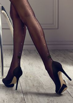 NSFW - I love womens legs. Even more so when she is wearing nylon of some type with high heels. Pantyhose, stockings, tights, they all make a woman's legs look and feel the best. Sexy High Heels, Black Heels, High Heel Boots, Heeled Boots, Talons Sexy, Pantyhosed Legs, Lingerie Heels, Carla Brown, Manolo Blahnik Heels