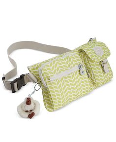 A must-have for savvy travelers, Kipling's Presto belt bag is a fashionable take on the fanny pack. It's perfect for organizing your cash and cards, and easily converts into a shoulder bag for versati