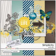 Hurry! Simplicity mini kit freebie from Lorie M Designs