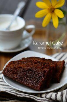 Simply Cooking and Baking...: Cake Karamel (Bolu Sarang Semut)
