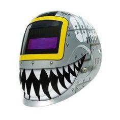 ArcOne 4000V-1171 Shade Master Fighting Tiger Welding Helmet - Amazon.com