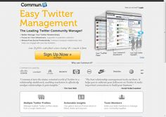 Twitter Marketing Software - Community Management and Relationship Management Service for Social Media   Commun.it