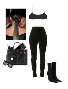 Untitled #1693 by elinaxblack on Polyvore featuring polyvore, fashion, style, Balmain, Balenciaga, Yves Saint Laurent, Victoria Beckham, Serge Lutens and clothing