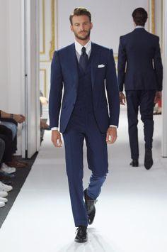 Mens Tailored Suits, Mens Suits, Three Piece Suit, 3 Piece Suits, Men's Tuxedo Styles, Man Dressing Style, Mens Fashion Wear, Tuxedo Suit, Formal Suits