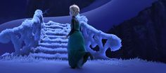 Frozen (2013) - Animation Screencaps