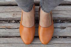 Kamel Lederschuhe Camel Schuhe Slipper flache Schuhe gelbe