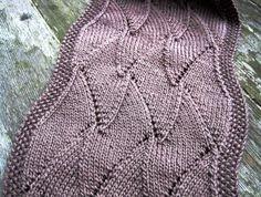 Free Knitting Pattern - Scarves: Ava Elongated Scarf