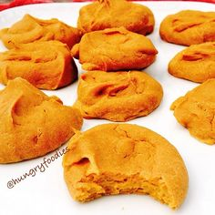 Sweet Potato PB Protein Cookies: 1 sweet potato, cooled & soft after roasting 1 egg 1/4 cup PB2 (powdered peanut butter) 1/4 cup Vanilla Protein Powder 2 TB Natural Peanut Butter Process in the food processor. Then spoon cookies out into prepared baking sheet. Bake at 350 for around 12 minutes. Perfect for a quick sweet tooth fix.