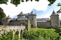 Chateau de Corroy-le-Chateau, of The Dukes of Brabant, of The Counts of Vianden,, of The Counts of Nassau and Marquesses of  Trazegnies