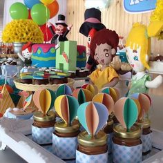 THE Bita World Party It is perfect for celebrating the birthday of a child aged 1 to 4 years. Surely the little birthday girl will love the idea of Boy First Birthday, Gold Birthday, 1st Boy Birthday, Planes Party, Colourful Balloons, Birthday Photos, Birthday Ideas, Baby Party, Birthday Decorations