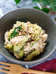 たたききゅうりと蒸し鶏の塩だれナムル【#作り置き #無限】 by Yuu 「写真がきれい」×「つくりやすい」×「美味しい」お料理と出会えるレシピサイト「Nadia | ナディア」プロの料理を無料で検索。実用的な節約簡単レシピからおもてなしレシピまで。有名レシピブロガーの料理動画も満載!お気に入りのレシピが保存できるSNS。