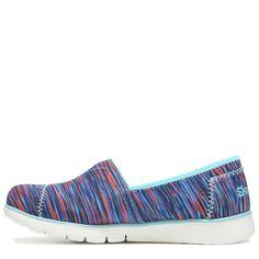 Skechers Kids' Pure Flex Memory Foam Slip On Sneaker Pre/Grade School Shoes (Blue/Multi) - 13.0 M