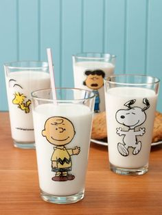 Peanuts Collectibles Pint Glasses | Set of 2