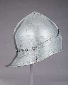 Sallet in the Franco-Burgundian Style Date: late 15th century Geography: said to have been found in Givet, Champagne-Ardenne Culture: possibly Italian Medium: Steel Dimensions: H. 9 in. (22.9 cm); W. 8 in. (20.3 cm); D. 12 1/4 in. (31.1 cm); Wt. 3 lb. 13 oz. (1737 g)