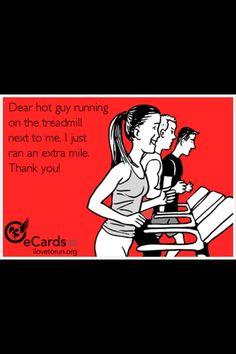 Dear hot guy...