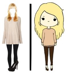 """""""Chibi IRL 3"""" by shinedownsiren ❤ liked on Polyvore featuring Vince and New Look"""