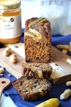 Peanut Butter, Banana Bread, Brunch, Healthy Recipes, Healthy Food, Food And Drink, Cooking, Cakes, Vegan
