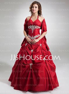 Quinceanera Dresses - $188.99 - Ball-Gown Sweetheart Floor-Length Taffeta Quinceanera Dresses With Ruffle Beading (021004554) http://jjshouse.com/Ball-Gown-Sweetheart-Floor-Length-Taffeta-Quinceanera-Dresses-With-Ruffle-Beading-021004554-g4554