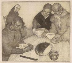 LE BÉNÉDICITÉ By Anto Carte Artwork Description Dimensions: 44,5 x 51 cm Medium: lithograph Signed
