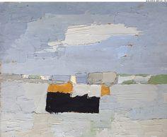 "STAEL, Nicolas de. Place au Hâvre. (Ref#: 897 ).<br />1952. Oil on canvas. Size in Cm: 27,5 x 33. <br /> <a href=""http://www.galerie-melki.fr/content/stael-nicolas-de/place-au-havre"">[More Information]</a> <br /><br />"