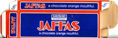 Mid Sweetacres Jaffas Confectionery Box - Side A - New Zealand More memories B.