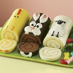 The Swiss Colony Easter Cake Trio $19.95