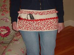 Sew Many Ways...: Tool Time Tuesday...77 Cent Apron Redo