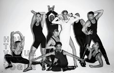 Legends Statements Stars - glossynewsstand:      VOGUE JAPAN JANUARY 2013      How To Vogue For Vogue   -  Model: Joan Smalls     Photographer: Terry Richardson     Stylist: George Cortina   (via hausderwarhol)