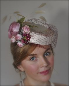 by MORAG YOUNG #millinery #HatAcademy #hats