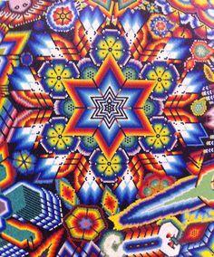 Huichol Latin beading on Pinterest | Bead Art, Mexico and Masks