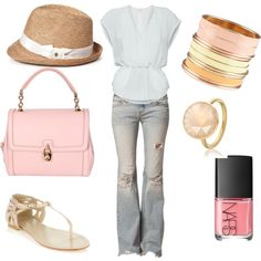 Summer Day's, created by kelajones12 on Polyvore