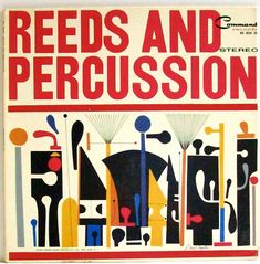 BEWITCHED Vintage 1961/ Reeds and Percussion/ Vinyl Record Album/ S Neil Fujita Cover Art. via Etsy.