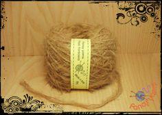1 gomitolo 50 grammi, colore cammello filato moda di Fancy yarns su DaWanda.com