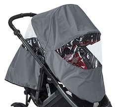 The #B-READY full rain cover provides complete protection for both of your children in wind and #rain. This rain cover is custom designed to fit the stroller when...