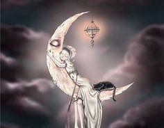 "Check out new work on my @Behance portfolio: """"Dans la Lune"""" http://be.net/gallery/46354481/Dans-la-Lune"