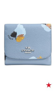 dfe4afd8d2b4 COACH SMALL WALLET IN FLORAL PRINT COATED CANVAS   Reviews - Handbags    Accessories - Macy s