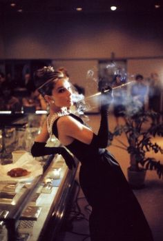 Audrey by Howell Conant in a promotial shot Breakfast in Tiffahy