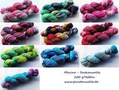 Merino-Sockenwolle www.piratenwolle.de