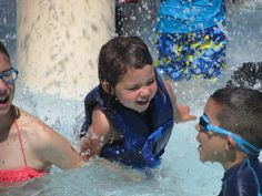 Learn how to swim at Great America! New for the 2014 season we're offering swimming lessons to all season pass holders ages 3-10. There is limited space for each session, so whether you're a Barracuda or Minnow, sign up and jump in!