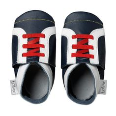 Bobux Krabbelschuhe Allsort Sport 4138 navy blau-weiß Gr S Baby Boy Shoes, Crib Shoes, Toddler Shoes, White Tennis Shoes, Tennis Shoes Outfit, Suede Leather, Leather Shoes, Soft Leather