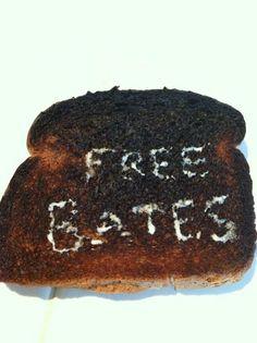 """Free Bates or you're toast! @Downton Abbey"""
