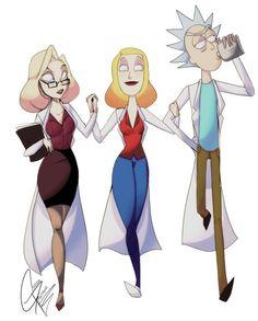 rick and morty Rick And Morty, Princess Zelda, Fan Art, Humor, Fictional Characters, Cheer, Humour, Fanart, Fantasy Characters