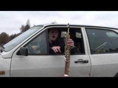 Bohemian Rhapsody by Porkka Playboys inside a rusty old Volkswagen Polo
