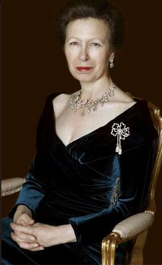 Princess Anne, daughter of Queen Elizabeth II and Prince Phillip