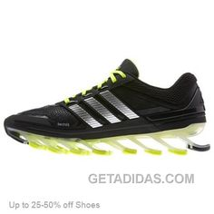 pretty nice d16d3 72f3b Adidas Men Springblade Black Green Running Shoes Discount, Price   69.00 -  Adidas Shoes,Adidas Nmd,Superstar,Originals
