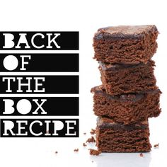 Best Back of the Box Recipes: Baker\'s One Bowl Brownies