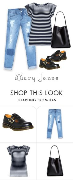 """My favorite Mary Janes. Doc Martens."" by stacy-hardy on Polyvore featuring Dr. Martens, Bebe, Hobbs and 3.1 Phillip Lim"